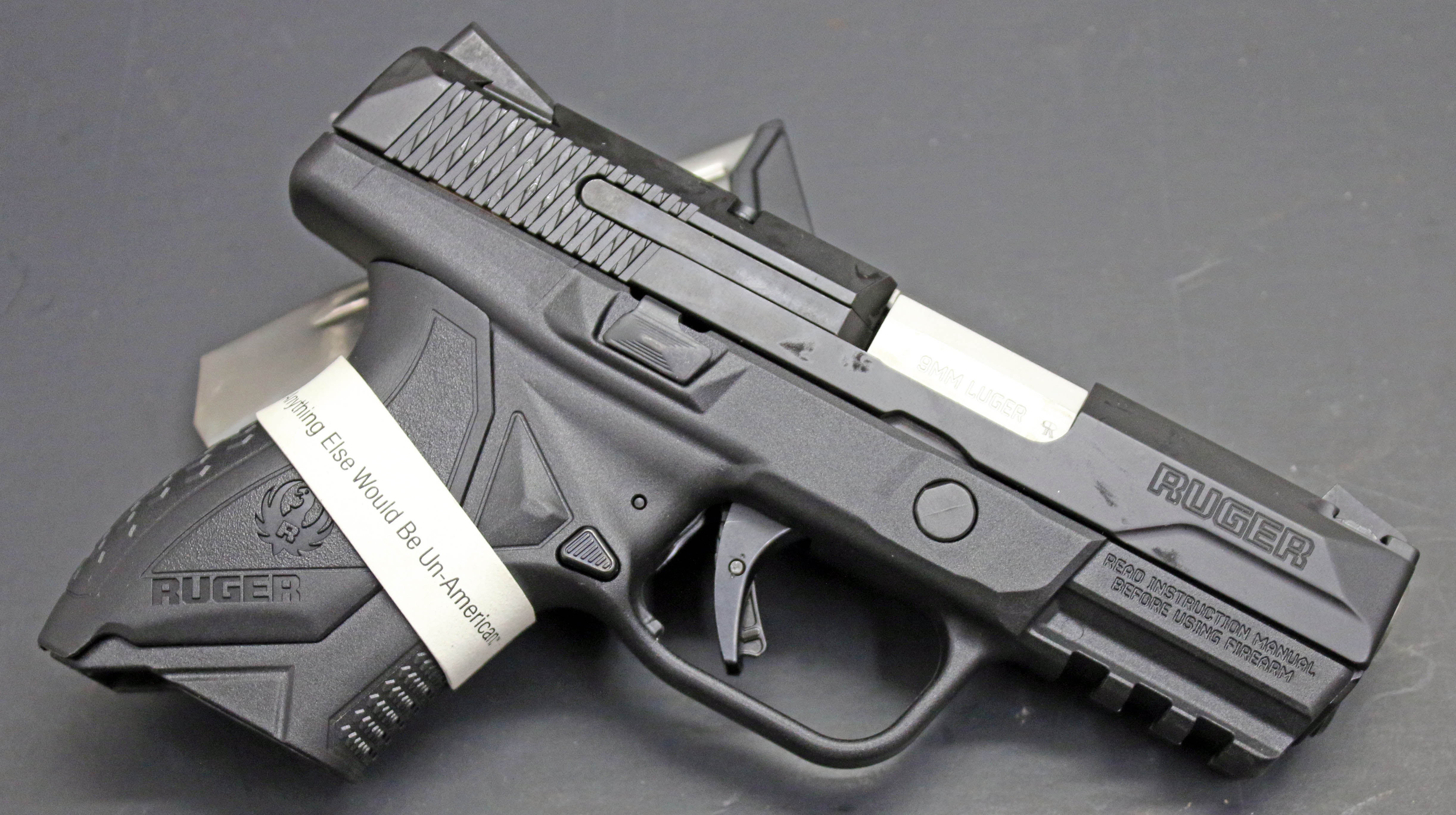 Ruger American Pistol 9MM Compact 3 5